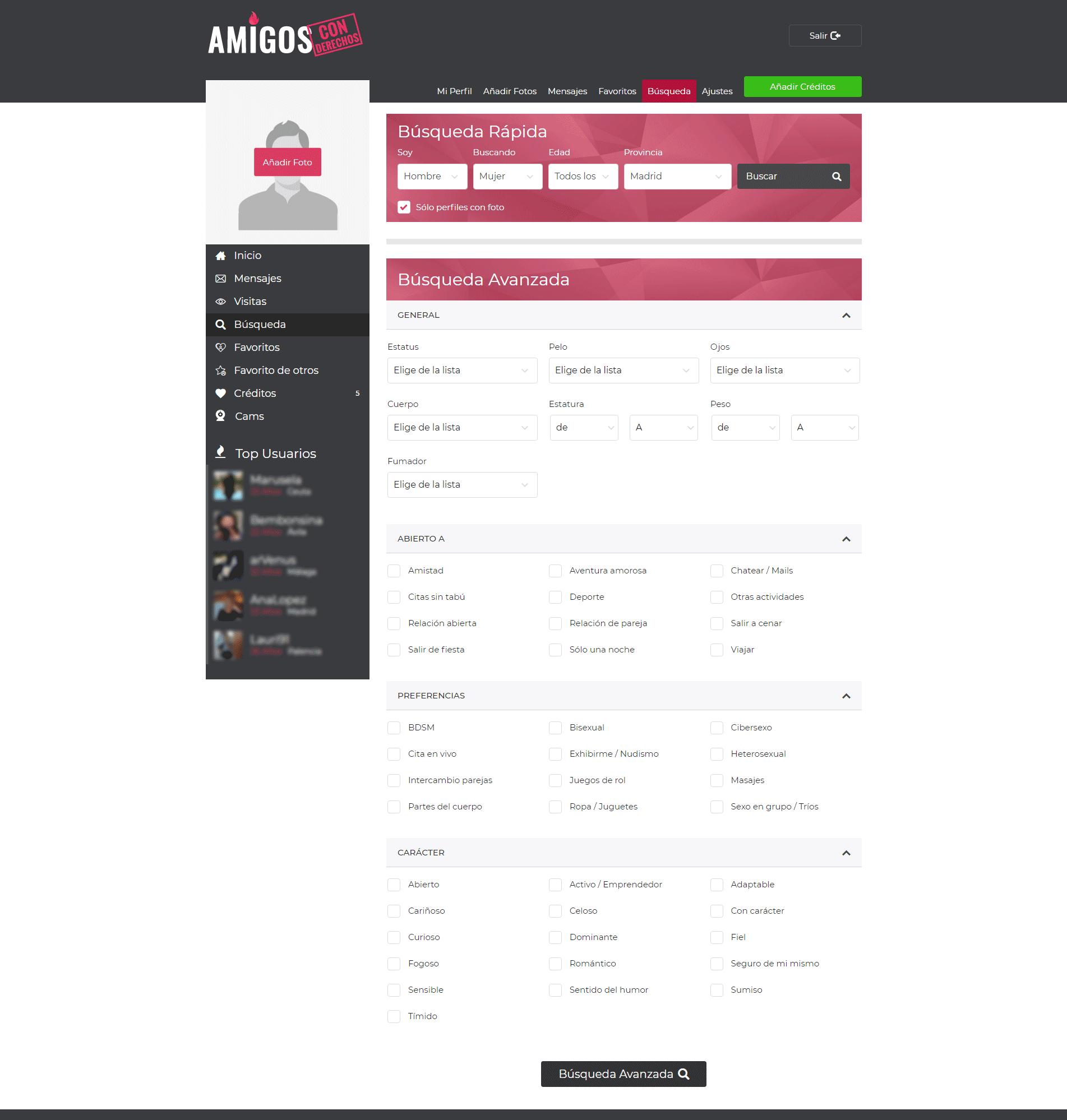 Seznamky tangowire